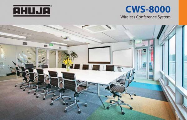 Ahuja Wireless Conference System CWS-8000