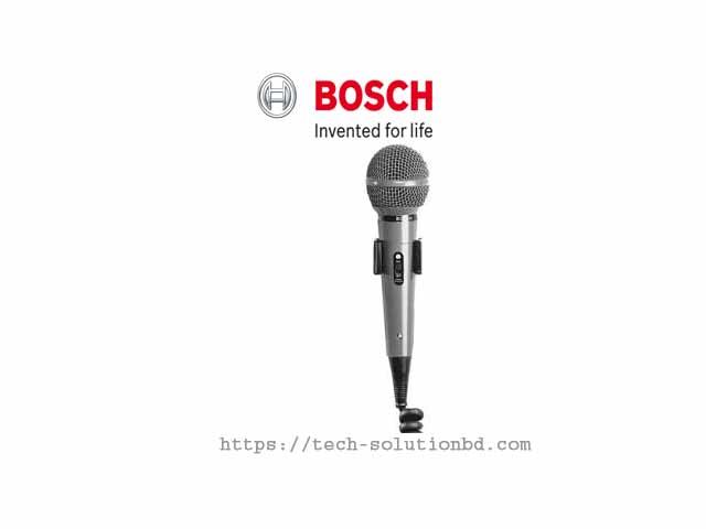 BOSCH LBB9099/10 Dynamic microphone, uni-directional