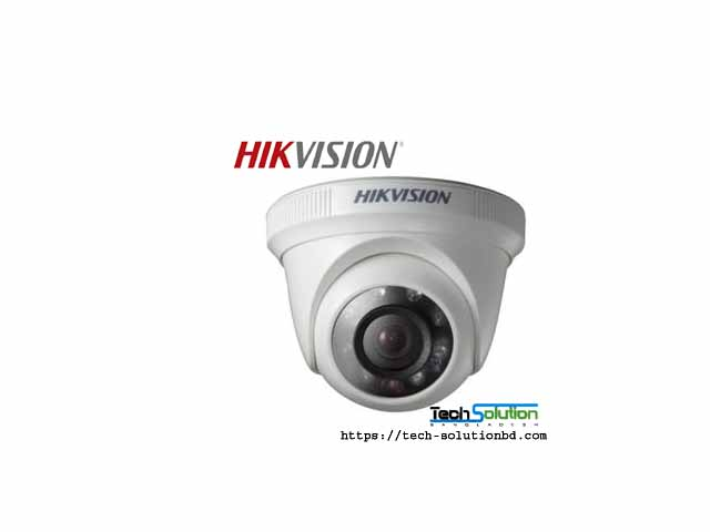 HIKVISION DS-2CE56C0T-IRP HD720P Indoor IR Turret Camera