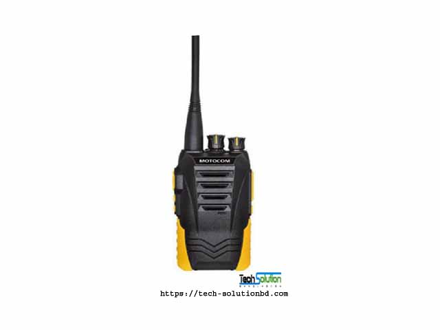 Motocom MC 500 Dust Proof Handset Radio Walkie-Talkie