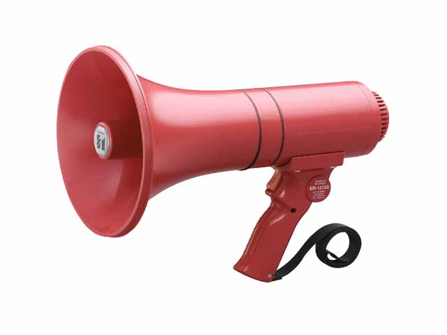 TOA ER-1215S Hand Grip Type Megaphone with Siren
