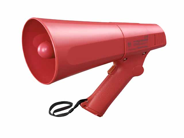 TOA ER-520S Hand Grip Type Megaphone with Siren