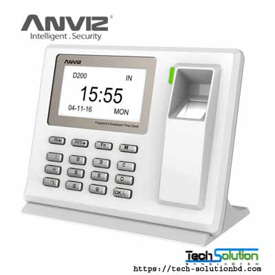 Anviz D200 Fingerprint Time Attendance
