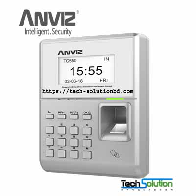 Anviz TC550 Fingerprint & RFID Time Attendance and Access Control