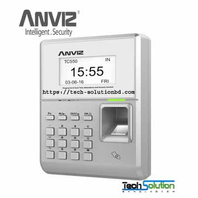 Anviz TC550 Fingerprint & RFID Time Attendance and Access Control