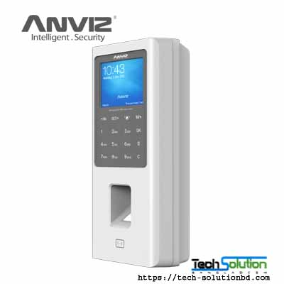 Anviz W2 Color Screen Fingerprint & RFID Access Control with Battery