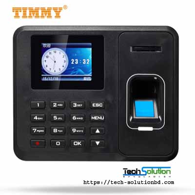TIMMY TM1800 FINGERPRINT TIME ATTENDANCE