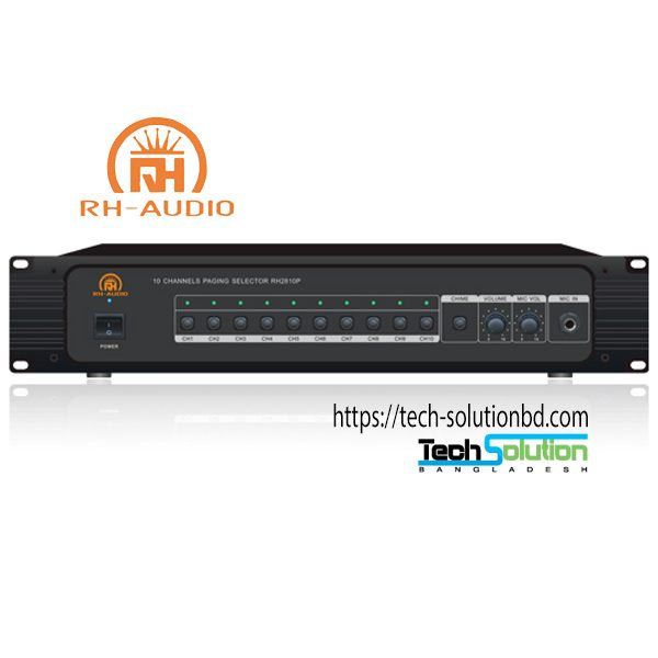10 Zone Paging Selector RH2810P