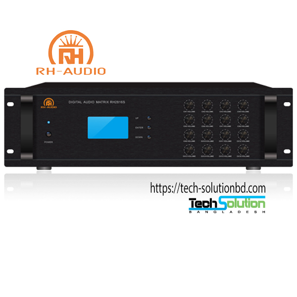 16 Channel Digital Audio Matrix RH2816S