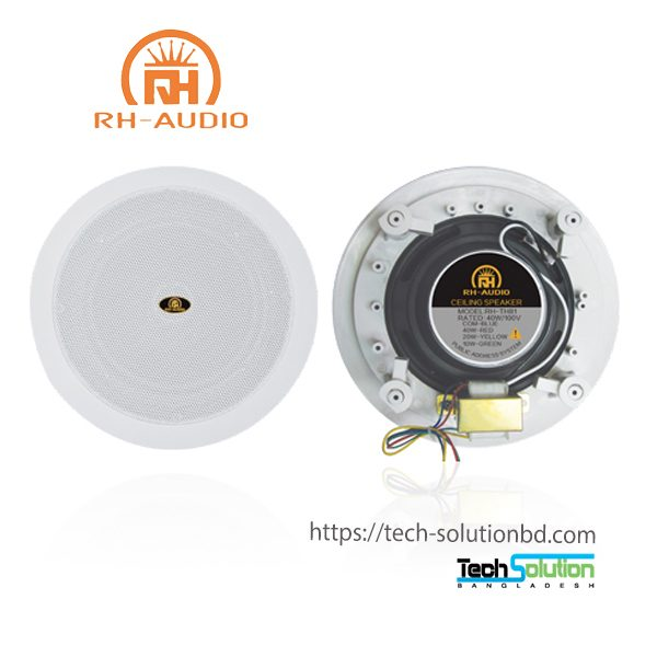 70V 100V In-ceiling Speaker RH-TH81 for PA System