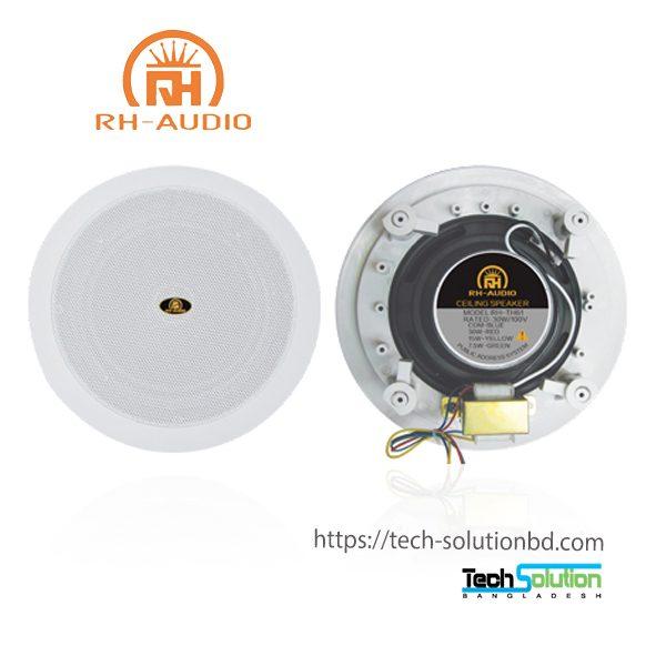 Coaxial In-ceiling 6inch Speaker RH-TH61