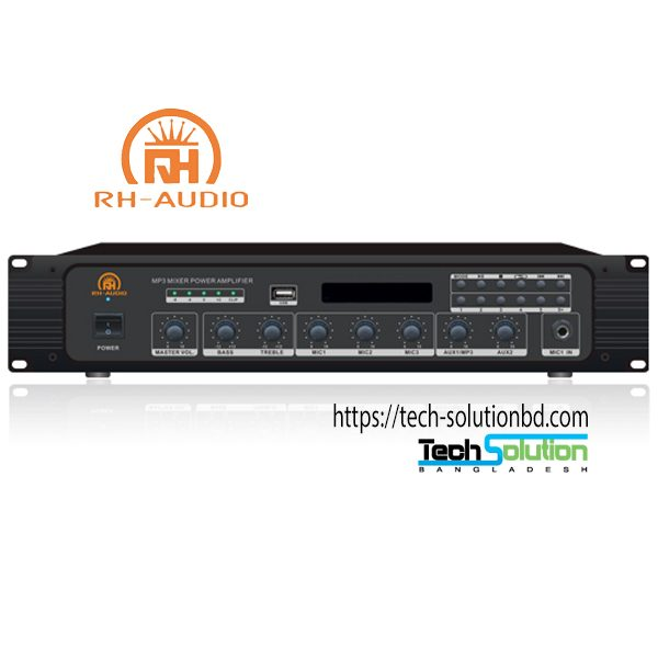 PA System BT/MP3/FM Mixer Amplifier