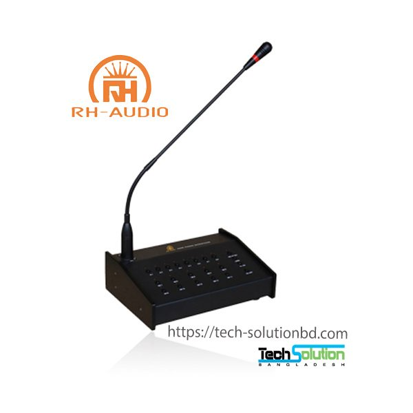Remote Multiple Zone Microphone with 10 Zone