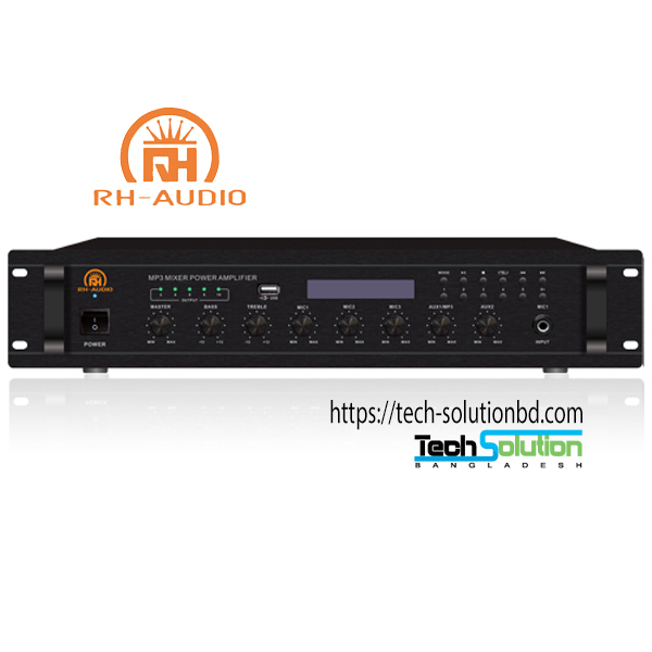 USB/FM/BT Mixer Amplifier
