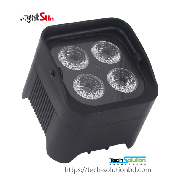 SPG701 4* 12 W RGBWAUV (6 in 1)  LEDs