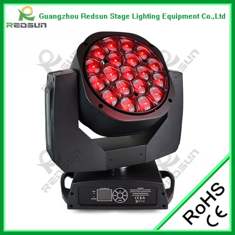 19PCS LED Big Bee Eyes Moving Head Light