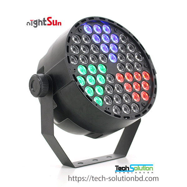 SPC205 54×1W (RGB 3 in 1) LED Par Effect Ligh