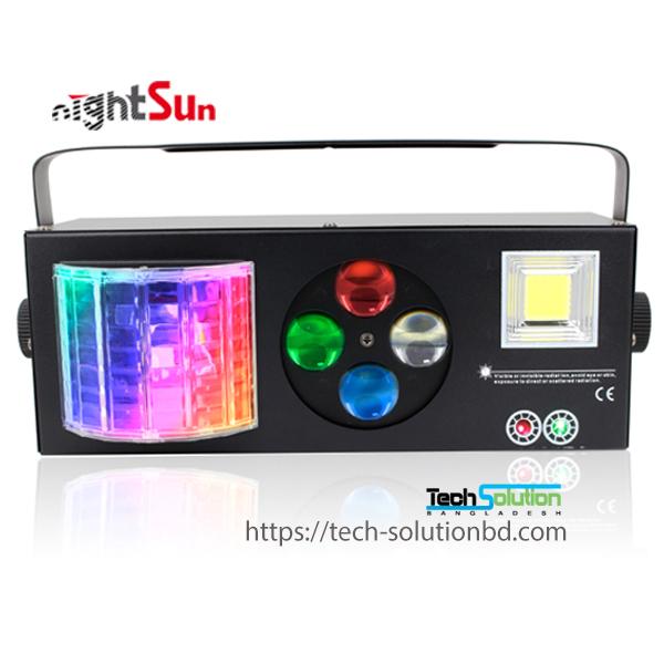 SPG607 Derby Spot Strobe Laser 4in1 LED light