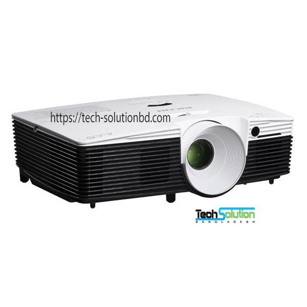 Ricoh PJ WX2240 3100 Lumens WXGA DLP Multimedia Projector