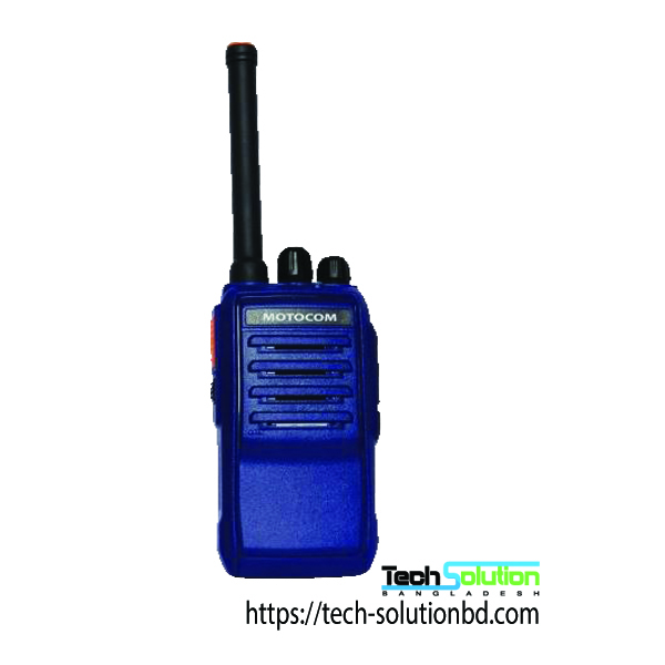 Motocom Handheld SBR Two-Way Walkie Talkie Radio MC-300