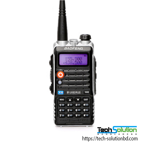 Baofeng BF-UVB2 Plus 6km 128Channel Two-Way Radio Walkie Talkie